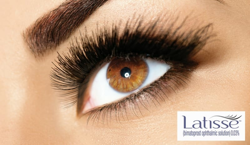 Latisse eyelash lengthener